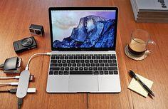 Nonda Hub+ USB-C Hub für Apple MacBook und Ladegerät fürs iPhone und Smartphone