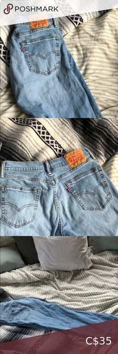 Levi's 505 jeans Got them tailored in at the waist so they fit tighter like a mom jean. Worn a few times. Length is 34 and width is 30 Levi's Jeans Straight Leg Levis 505 Jeans, Like A Mom, Plus Fashion, Fashion Tips, Fashion Trends, Mom Jeans, Tights, Legs, Closet