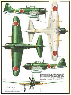 """Mitsubishi A6M3 """"Zero-Sen"""""""