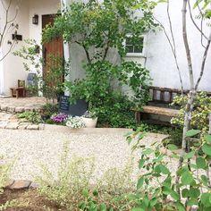 玄関/外構未完成/アンティークレンガ/グリーンのある暮らし/お庭の花/お庭…などのインテリア実例 - 2017-05-06 15:52:45 | RoomClip(ルームクリップ)