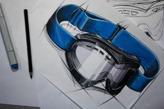 SKETCHES by Andreas Bhend at Coroflot.com --- Wow! And how are the textures made?