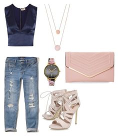 """WH"" by dovenavarro on Polyvore featuring Hollister Co., L'Agence, Michael Kors, Ted Baker, Carvela and Sasha"