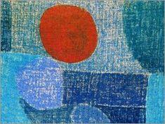 Paul Klee - Noch heiss und fremd einher, 1938
