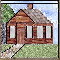 Log House - Free Quilt Block Pattern
