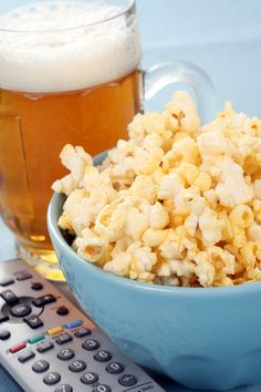 Movie night 30th birthday ideas. We love this more mellow approach to the big 3-0.