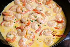 Camarones ecuatorianos al ajillo Good Healthy Recipes, Snack Recipes, Cooking Recipes, Slimming Recipes, Yummy Food, Tasty, Enchilada Recipes, Ceviche, Shrimp Recipes