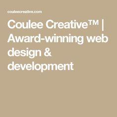Coulee Creative™ | Award-winning web design & development