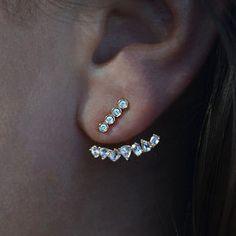 diamond ear jacket – Luna Skye by Samantha Conn