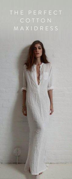 Vintage Cotton Maxi Dress. Ultra-soft cotton fabric 77e18885f