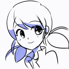 "thelazyfluffybunny: ""Was playing around with Clip Studio's animation thingy and made a GIF of Marinette xD Hopefully I might make gifs or use them for future projects like making animatics xD """