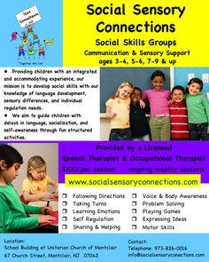 Social Sensory Connections - Social Skills Groups