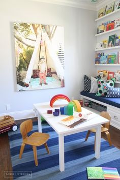 such a sweet kid's space!