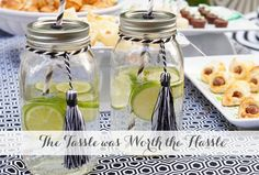 Adorable for a graduation party Graduation Party Ideas from @Amy's Party Ideas   AmysPartyIdeas.com