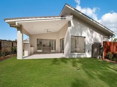 These are new house designs for most of these house renditions are big houses and two-storey houses. Small Cottage Designs, Small House Design, Bungalow House Plans, Modern House Plans, Modern Houses, New Home Designs, Home Design Plans, Double Storey House Plans, Facade House
