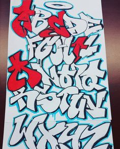 Graffiti Alphabet Styles, Graffiti Lettering Alphabet, Chicano Lettering, Graffiti Words, Tattoo Lettering Fonts, Graffiti Designs, Graffiti Characters, Graffiti Drawing, Graffiti Styles