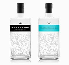 Tenneyson Absinthe packaging by Brad Dowdle Graphics