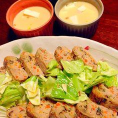 安上がりなのに豪華に見えます✨ - 25件のもぐもぐ - まとめて簡単!和風ミートローフと節約お豆腐の茶碗蒸し by sakutae