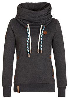 Naketano Women's Sweatshirt Reorder IV at Amazon Women's Clothing store: