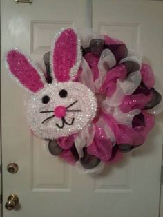 Another Easter Wreath I made today....