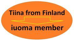 IUOMA 30 years sticker by Ruud Janssen http://www.tiinafromfinland.com/mail-art/iuoma-30-sticker/ #mailart #IUOMA