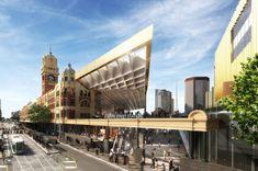 Galeria de Proposta Finalista para a Estação Flinders Street / NH Architecture - 2