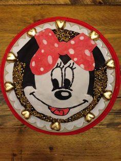 Minnie mouse chocoladetaart!