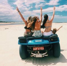Summer Vibes :: Beach :: Friends :: Adventure :: Sun :: Salty Fun :: Blue Water :: Paradise :: Bikinis :: Boho Style :: Fashion + Outfits :: Free your Wild + see more Untamed Summertime Inspiration Summer Goals, Summer Of Love, Summer Fun, Party Summer, Summer 2015, Vw Beach, Beach Bum, Beach Girls, Beach 2017
