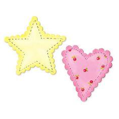 Faca Sizzix Bigz Heart & Star, Scallop