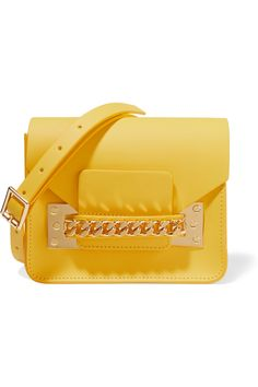 SOPHIE HULME Leather shoulder bag  £255 http://www.theoutnet.com/products/680241