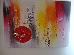 PRADO DOS QUERUBINS: pintura em tela abstrato