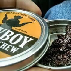 Its Cowboy Coffee Chew time Pack a dip in your lip and sip it
