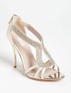 REVEL: Champagne Crystal Heel