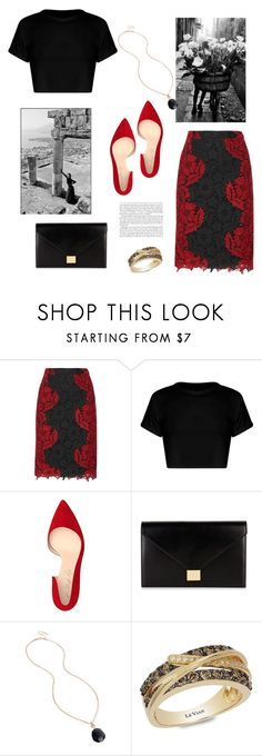 """L'estate"" by isidora ❤ liked on Polyvore featuring Alice + Olivia, Shoes of Prey, Victoria Beckham, Kenneth Cole, LE VIAN and Lightyears"