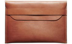 Leather iPad Mini Sleeve.  Suffice it to say that I love everything Kaufmann Mercantile has to offer.