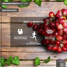 Most of us know that you can find Resveratrol in red wine ... But it's not always a good time for a glass of red! For example, Monday mornings! Don't worry, we got you covered!  Get your healthy dose of Resveratrol in each serving of #LifeShotz. No hangover required! :)