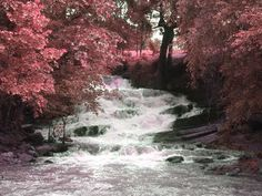 I love the color with this waterfall.