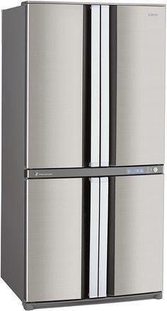 4-door fridge freezer - Sharp SJF79PSSL with Plasmacluster technology | Appliancist