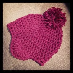 bembie pom hat ~ free pattern.