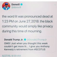 Black Jokes, Donald Trump Jr, Queen Quotes, Book Worms, I Laughed, Laughing, Haha, Funny Stuff, Comedy