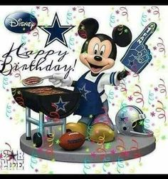 Happy Birthday Notes, Birthday Qoutes, Birthday Wishes Messages, Birthday Blessings, Happy Birthday Greetings, Friend Birthday, Birthday Fun, Dallas Cowboys Wreath, Cowboys Football