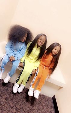 I want my kids to have hair just like them 💯💯💯💯💯💯💯 Cute Mixed Babies, Cute Black Babies, Beautiful Black Babies, Black Kids, Cute Baby Girl, Beautiful Children, Cute Babies, Baby Girls, Cute Kids Fashion