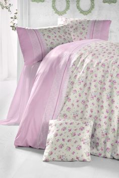 Çift Kişilik Ranforce Nevresim Takımı Ecss_Pnev_0017 Felt Toys, Sweet Dreams, Bed Sheets, Comforters, Duvet, Pillow Cases, Baby Kids, Quilts, Blanket