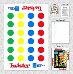 PRINTABLE TWISTER & MORE