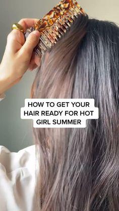 Summer Girls, Natural Hair Care, Summer Hairstyles, Hair Ties, Scrunchies, Hair Follicles, Hair Accessories, Board