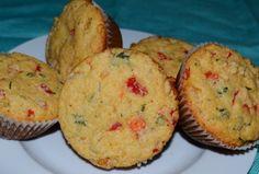 Reteta briose cu ardei #reteta #aperitiv Appetizer Recipes, Appetizers, Breakfast Recipes, Muffin, Appetizer, Muffins, Entrees, Cupcakes, Dinner Entrees