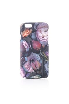 29c46fe2cdf1 ted baker womens accessories fraiser shadow floral iphone 6 xhatch case Ted  Baker Accessories