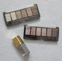 Catrice eye shadow palette and Sound of Silence nail polish