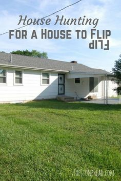 "Looking for a house to flip? I'm full of tips and tricks for finding a flip: ""The search for fixer upper #2 didn't go as planned but we learned a lot."""