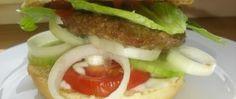 Hamburger se zeleninou Hamburger, Beef, Food, Meat, Essen, Burgers, Meals, Yemek, Eten