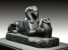 "Sphinx of Schepenupet, ""God's Wife of Amun"". Ancient Egyptian Architecture, Ancient Egyptian Artifacts, Ancient Egypt History, Ancient Art, Amon, Egyptian Mythology, Wanderlust, Statue, Gods And Goddesses"